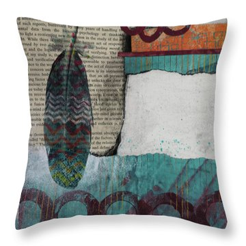 Reorienting  Throw Pillow
