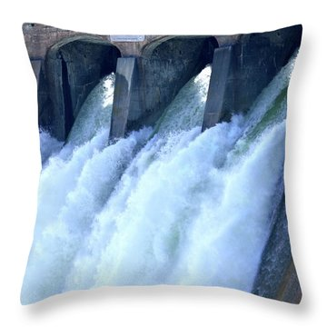 Repetition And Variance Throw Pillow