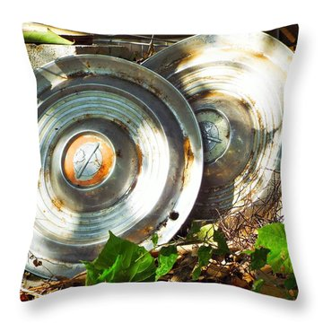 Replaced With Spinners Throw Pillow