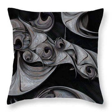 Repressed Reality Throw Pillow