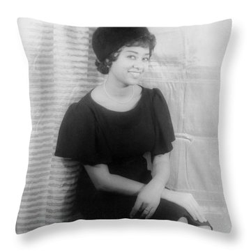 Reri Grist (1932- ) Throw Pillow by Granger