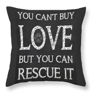 Rescue It Throw Pillow