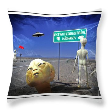 rescue Ver 2 Throw Pillow