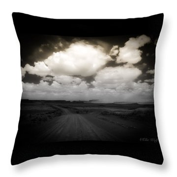 Reservation Road Throw Pillow