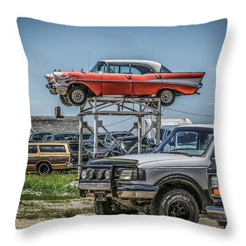 Reserved Parking Throw Pillow
