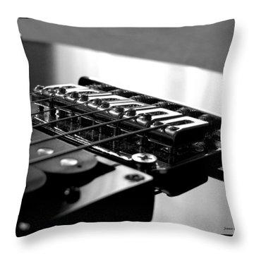 Resonance 2 Throw Pillow