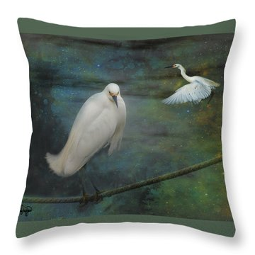 Resonant Throw Pillow