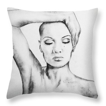 Resonate Throw Pillow by Courtney James