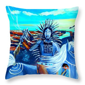 Respect Mother Earth Throw Pillow