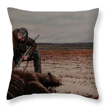 Respectfull Blessing Throw Pillow
