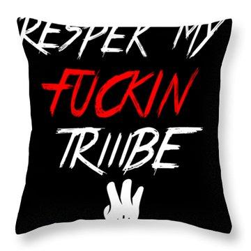 Respek Throw Pillow