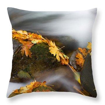 Respite Throw Pillow by Mike  Dawson