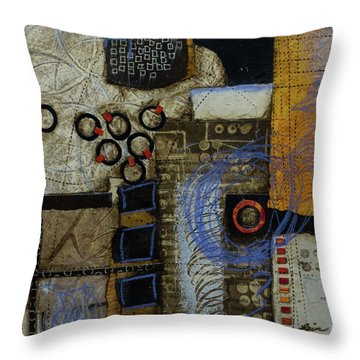 Respond To Patterns Throw Pillow