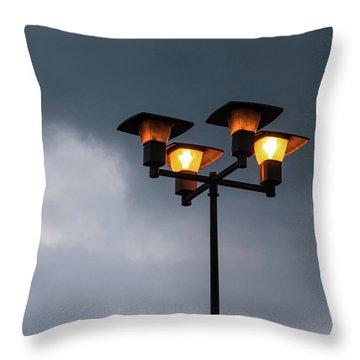 Responding To Light 2 - Throw Pillow