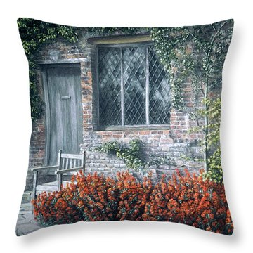 Rest Awhile Throw Pillow