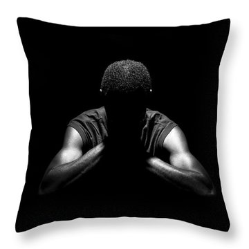 Throw Pillow featuring the photograph Rest by Eric Christopher Jackson