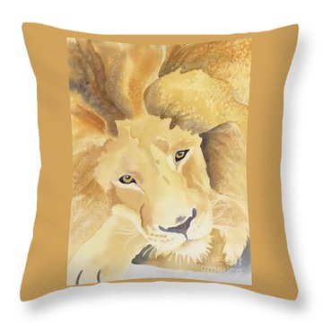 Rest In Peace Cecil Throw Pillow