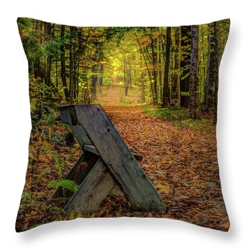 Restfull Throw Pillow