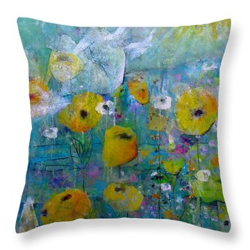 Resting Assured Throw Pillow by Eleatta Diver