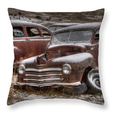 Resting Throw Pillow