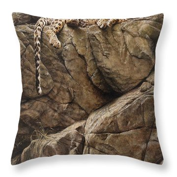 Resting In Comfort Throw Pillow