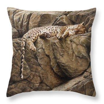 Resting In Comfort Throw Pillow