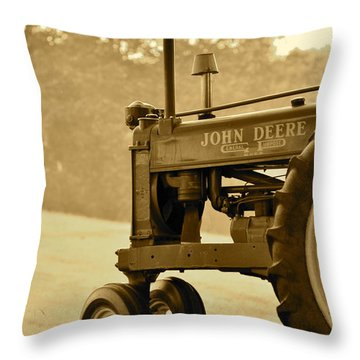 Resting In Sepia Throw Pillow
