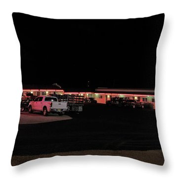Resting In The Past Throw Pillow