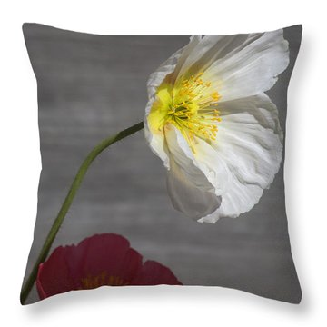 Resting In Your Shade Throw Pillow