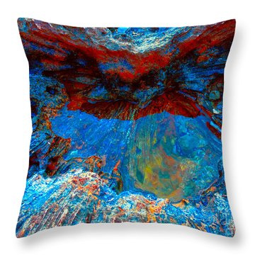 Resting Nature Throw Pillow