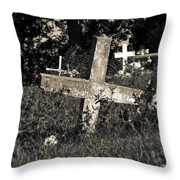 Resting Throw Pillow by Scott Pellegrin