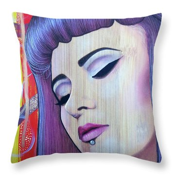 Restless Mind - Beautiful Spirit Throw Pillow