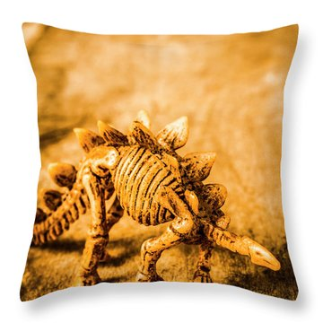Restoration In Extinction  Throw Pillow