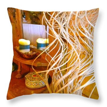 Restorative Beauty Throw Pillow