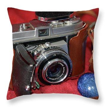 Throw Pillow featuring the photograph Retina by John Schneider