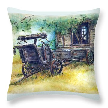 Retired At Last Throw Pillow