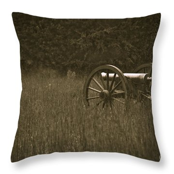 Retreat...never Surrender Throw Pillow by Charles Dobbs