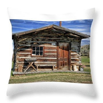 Retro Home Throw Pillow