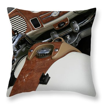 Retro Look Throw Pillow