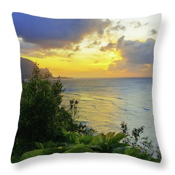 Throw Pillow featuring the photograph Return by Chad Dutson