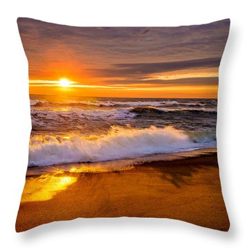 Throw Pillow featuring the photograph Return Engagement  by John Harding