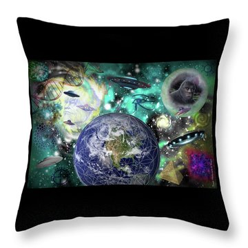 Return Of The Elders 3 Throw Pillow