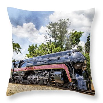 Return Of The J611 Throw Pillow by Alan Raasch