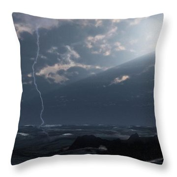 Return Of The Lost Throw Pillow