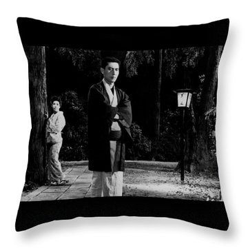 Return Of The Young Boss Throw Pillow