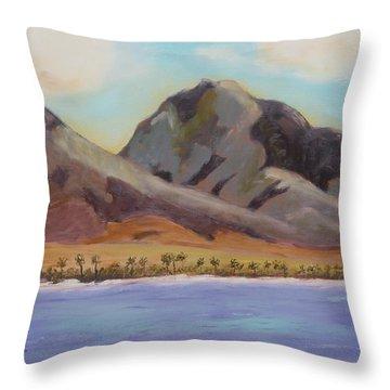 Return To Maui Throw Pillow