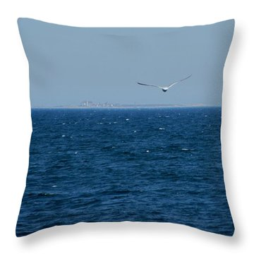 Return To The Isle Of Shoals Throw Pillow