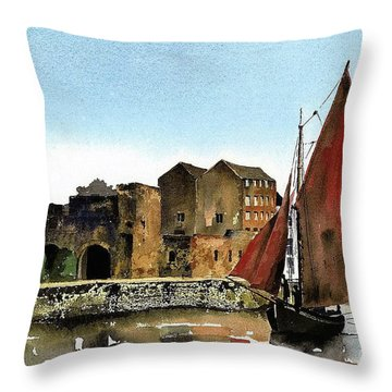 Returning Home To The Cladagh Throw Pillow