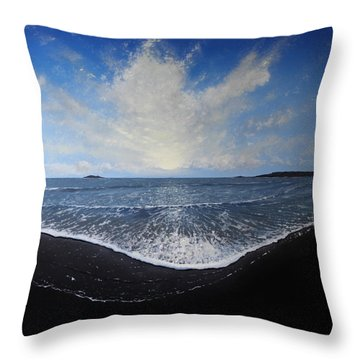 Returning Light Throw Pillow by Paul Newcastle