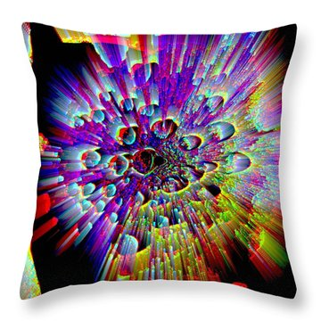 Returning Throw Pillow by Shirley Sirois
